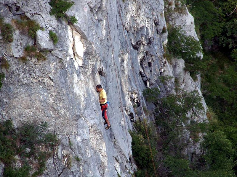 val rosandra arrampicata