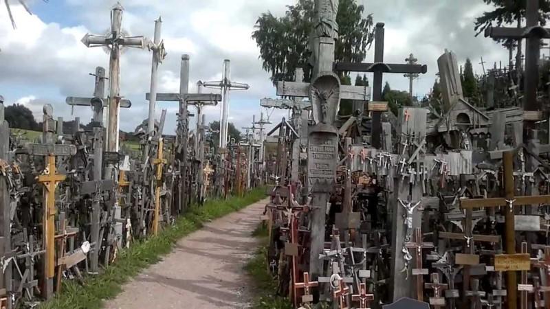 collina delle croci lituania