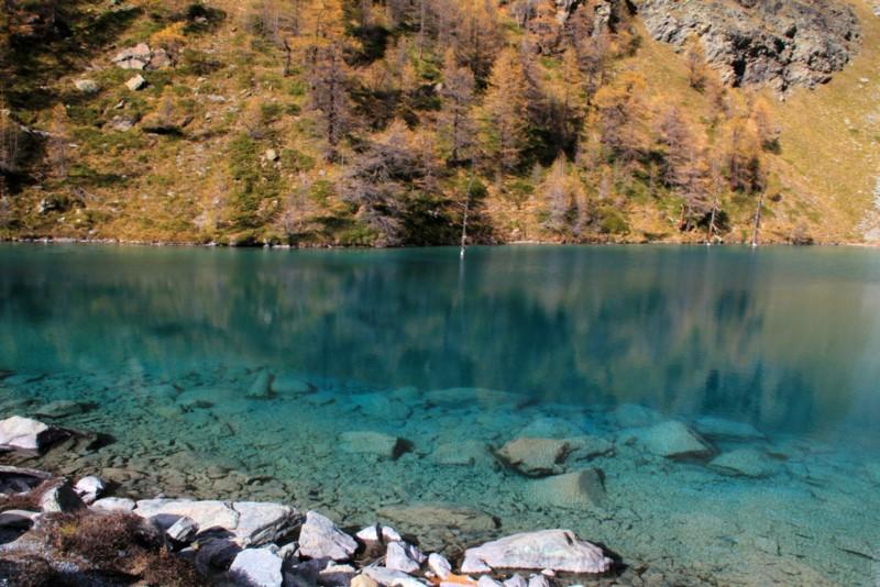 lago blu cervinia