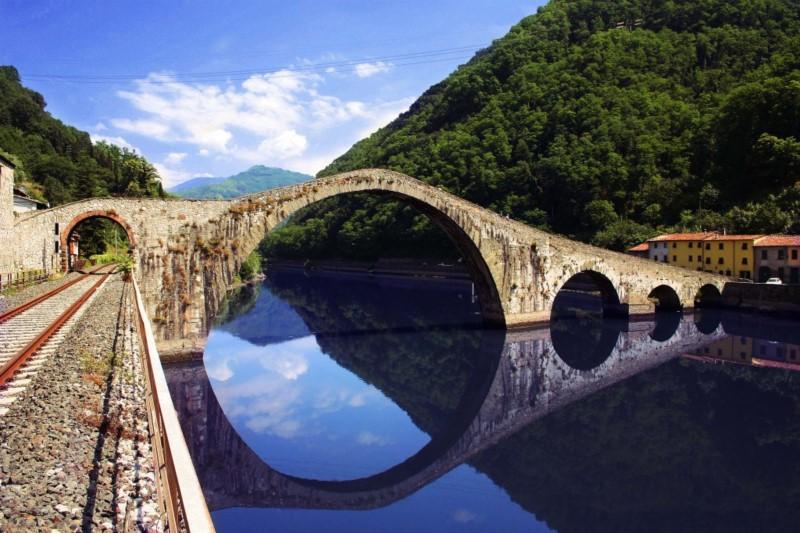 ponte della maddalena lucca