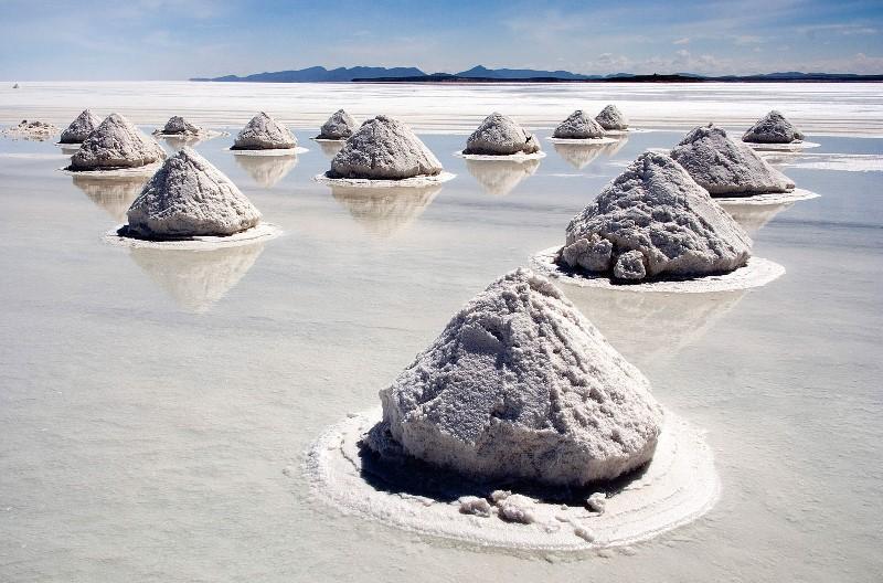 lago salato bolivia