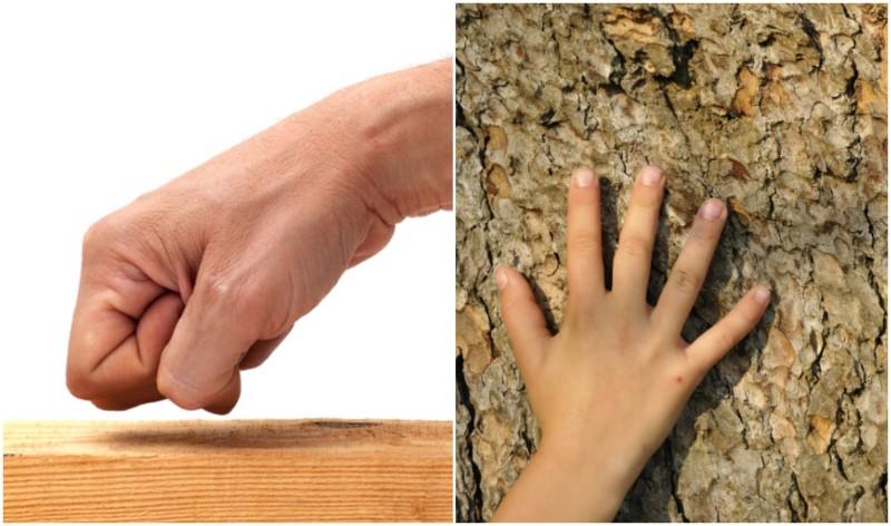 toccare legno