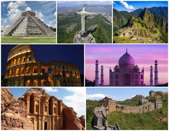 sette meraviglie del mondo moderno
