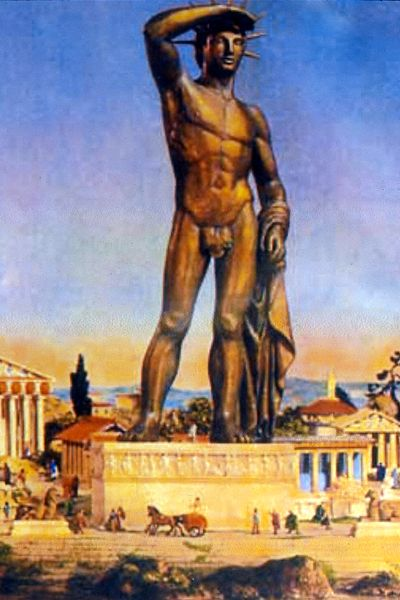 scultore greco colosso di rodi
