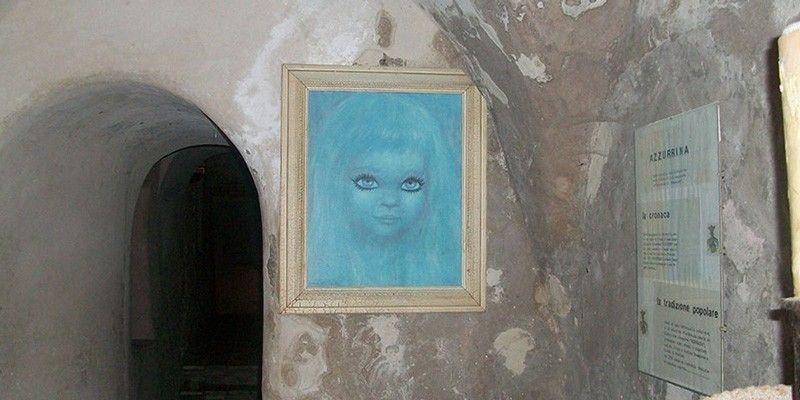 azzurrina leggenda