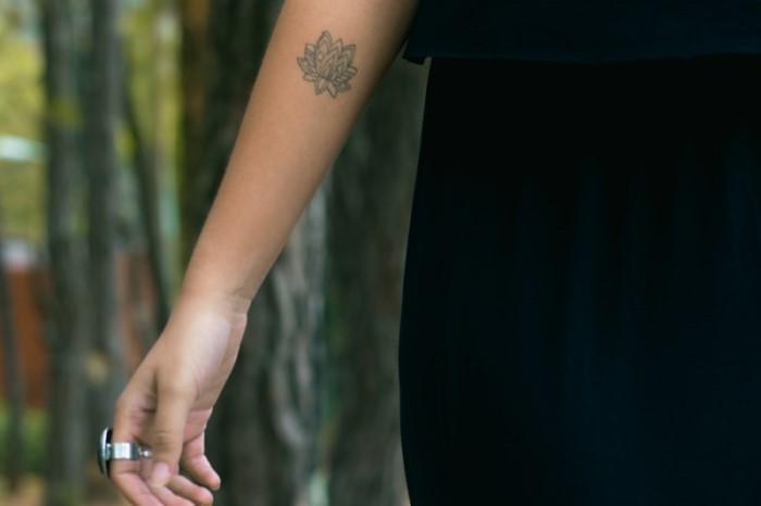 tattoo fiore di loto