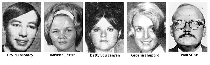 vittime killer dello zodiaco