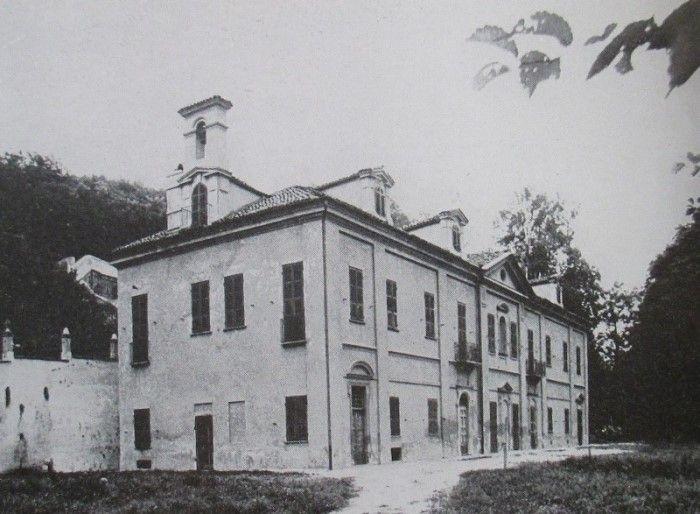 villa Capriglio nel passato