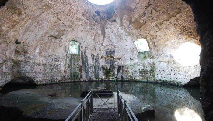 tempio di mercurio baia