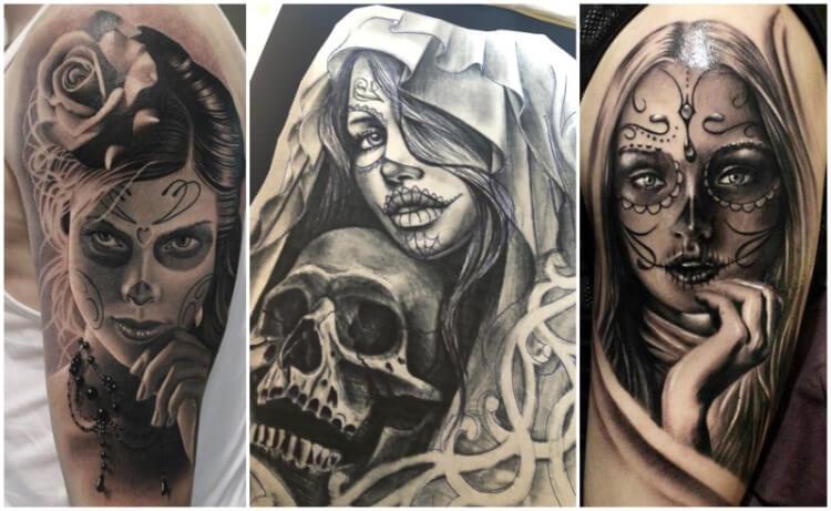 tatuaggi santa muerte