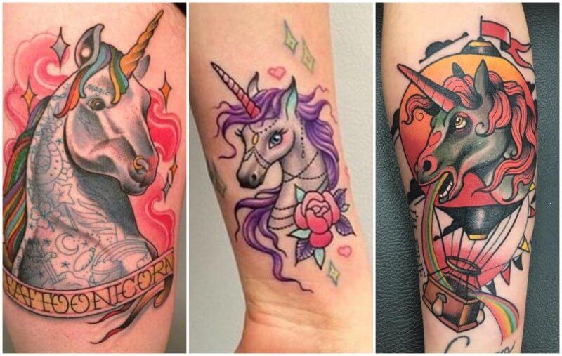 unicorni tattoo